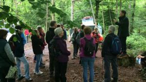 Artist talk as part of Bristol Walking Festival